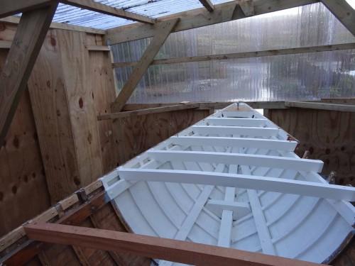New deck beams
